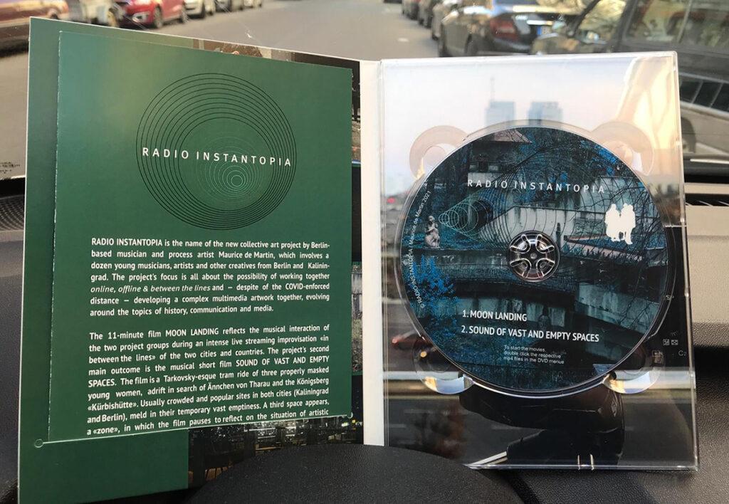 RADIO INSTANTOPIA_DVD